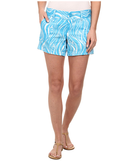 Lilly Pulitzer - Callahan Short (Resort White Joe Fish Small) Women