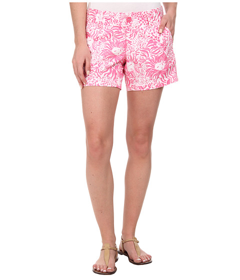 Lilly Pulitzer - Callahan Short (Resort White Get Spotted Sma) Women