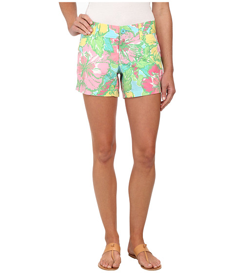 Lilly Pulitzer - Callahan Short (Shorely Blue Big Flirt Small) Women