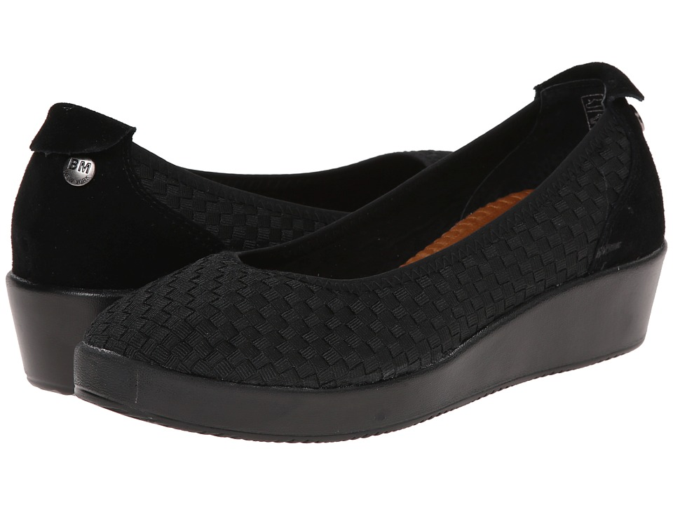 bernie mev. - Smooth Farrah (Black) Women's Sandals