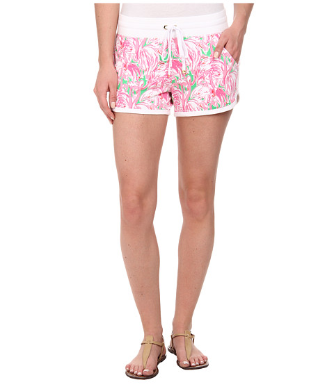 Lilly Pulitzer - Chrissy Short (Prep Green Pink Colony Sma) Women