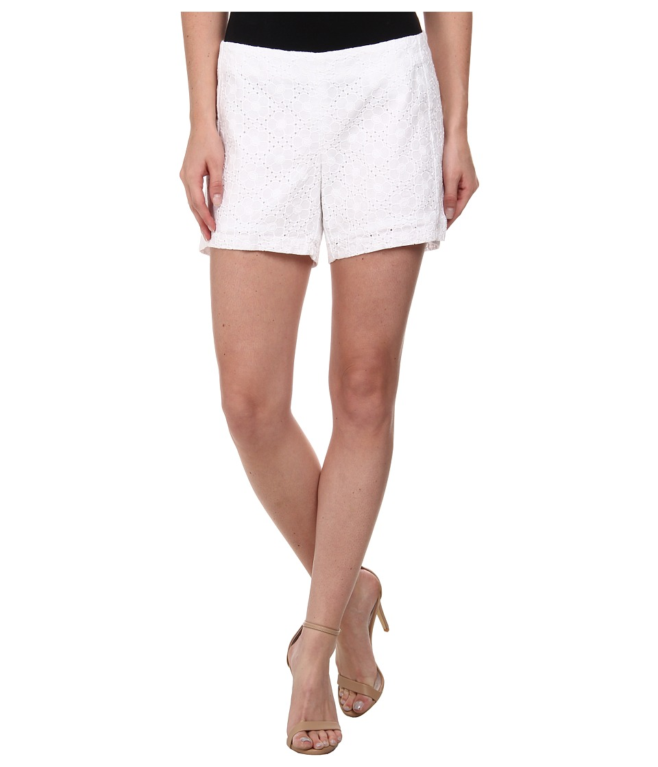 Lilly Pulitzer - Deenie Short (Resort White Daisy Eyelet) Women's Shorts