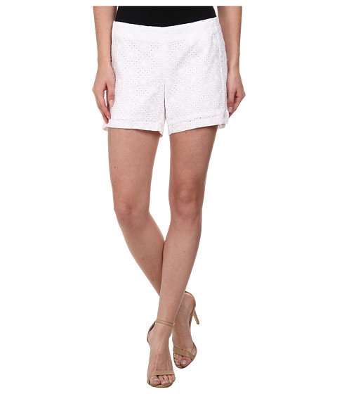 Lilly Pulitzer - Deenie Short (Resort White Daisy Eyelet) Women