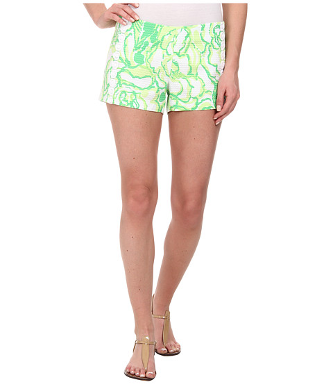 Lilly Pulitzer - Liza Short (Resort White Heart Breakers) Women's Shorts