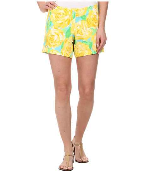 Lilly Pulitzer - Deenie Short (Sunglow Yellow First Impression) Women's Shorts