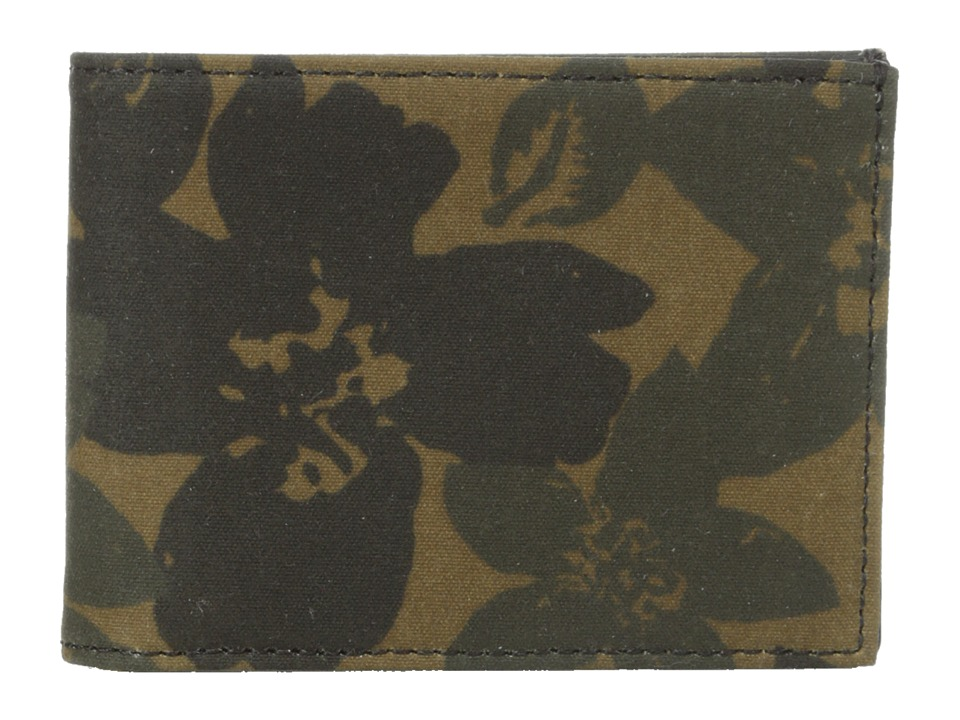 Jack Spade - Floral Camo Index Wallet (Camo Print) Wallet Handbags