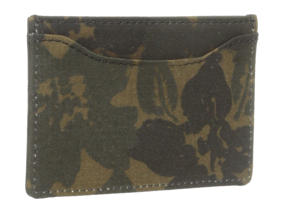 Jack Spade - Floral Camo Credit Card Holder (Camo Print) Credit card Wallet