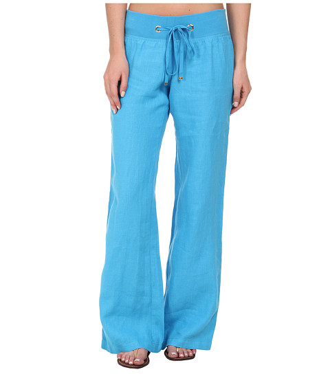Lilly Pulitzer - Beach Pant (Ariel Blue) Women's Casual Pants