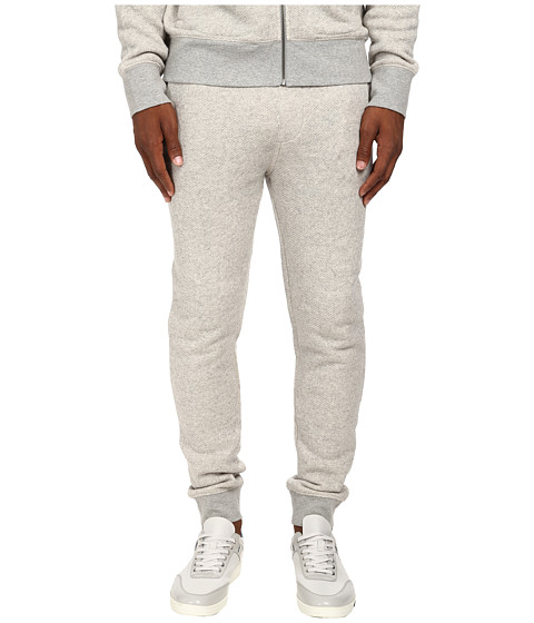Jack Spade - Belford Sweatpant (Cement Heather Grey) Men's Casual Pants