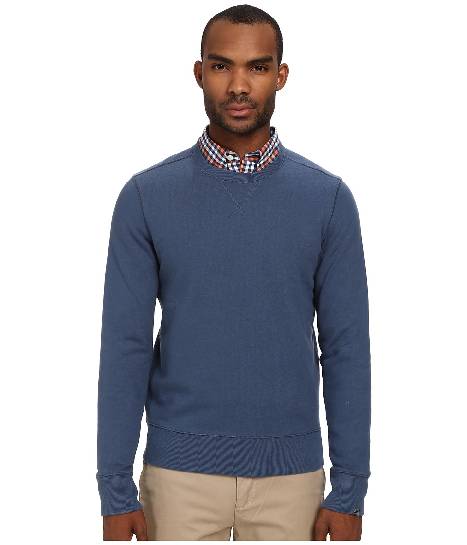 Jack Spade - Janson Crew Neck Sweatshirt (Dark Denim) Men