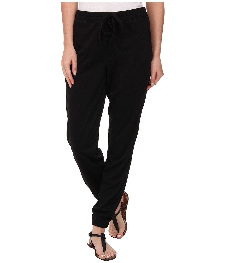 HUE - Chill Jersey Leggings (Black) Women's Casual Pants