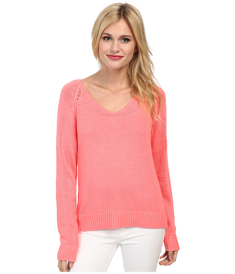 Lilly Pulitzer - Bennett Sweater (Pucker Pink) Women's Sweater