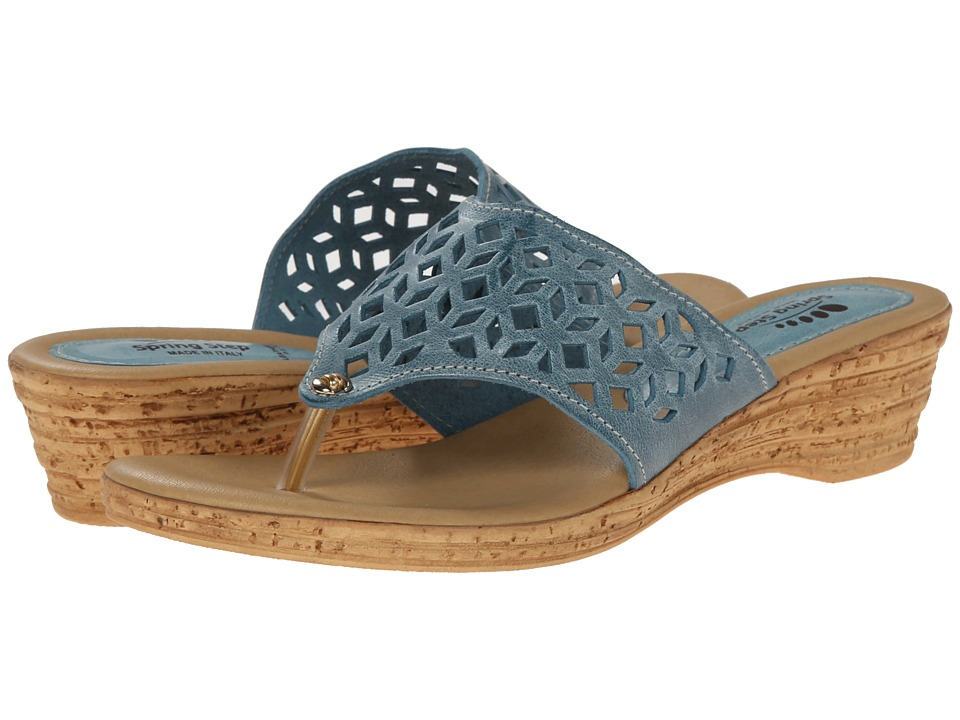 Spring Step - Amerena (Blue) Women's Shoes