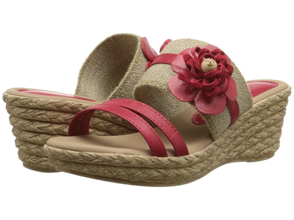 Spring Step - Aketi (Red) Women's Shoes
