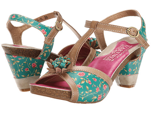 Spring Step - Hanne (Turquoise) Women
