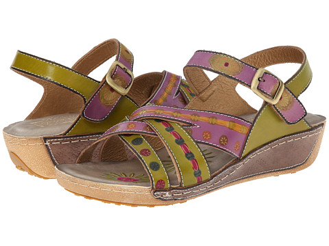 Spring Step - Livingstone (Purple) Women's Wedge Shoes
