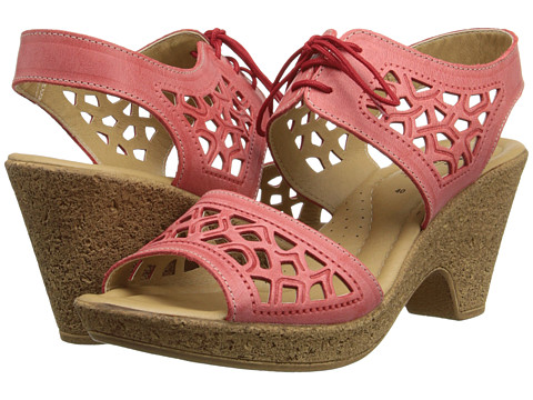 Spring Step - Lamay (Coral) Women's Wedge Shoes