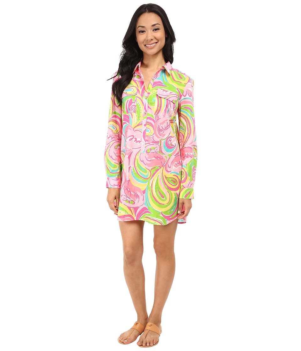 Lilly Pulitzer - Captiva Tunic (Multi All Nighter) Women's Dress