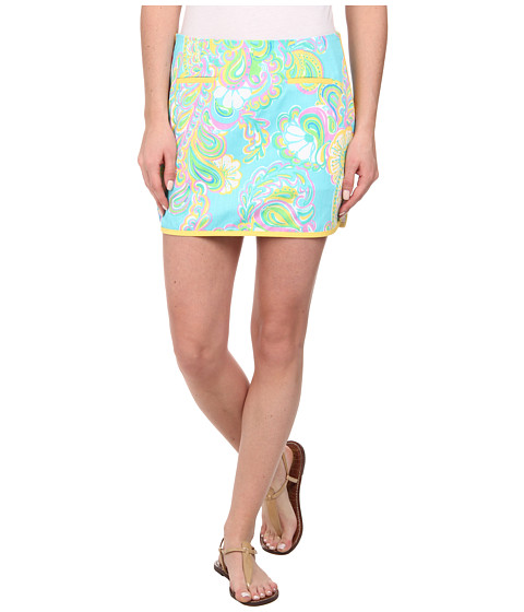 Lilly Pulitzer - Tierney Skort (Shorely Blue Double Trouble) Women