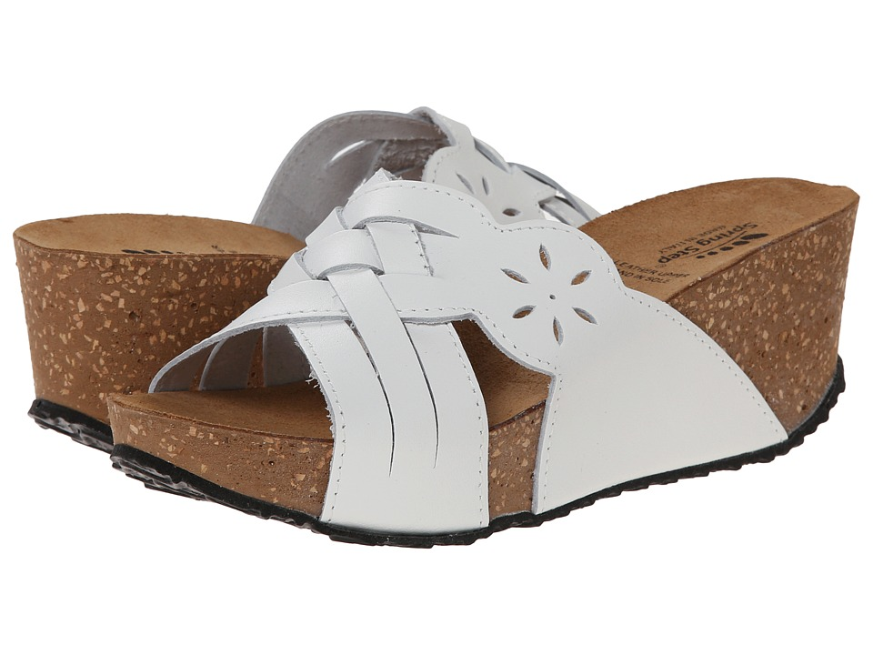 Spring Step - Skyview (White) Women's Shoes