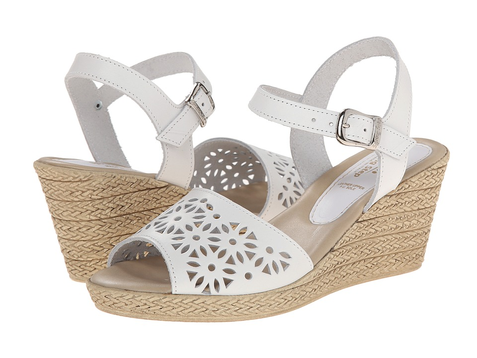 Spring Step - Meurice (White) Women's Shoes