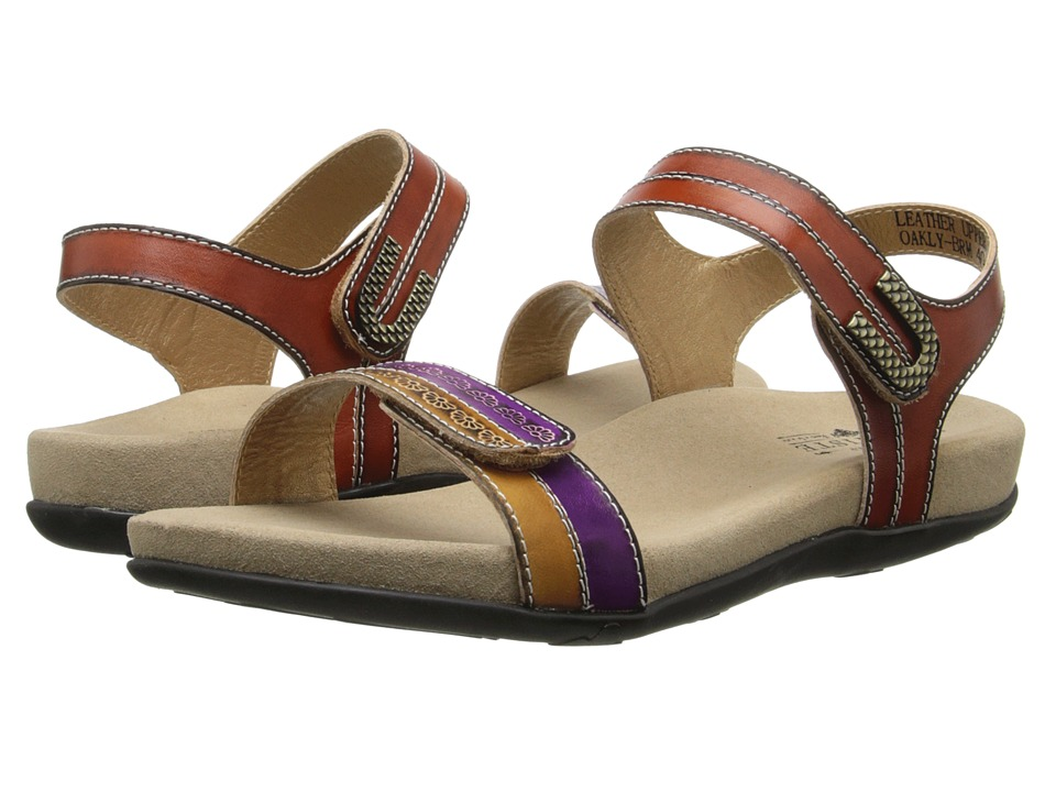 Spring Step Oakly (Brown) Women