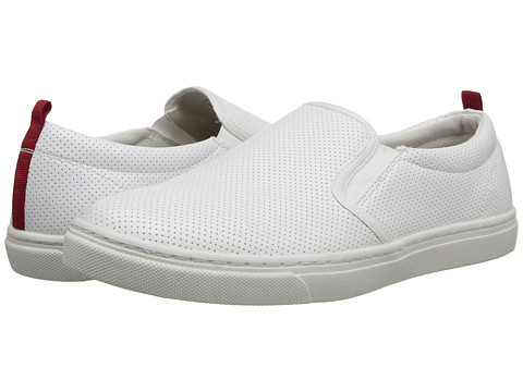 Steve Madden - Height (White) Men's Slip on Shoes