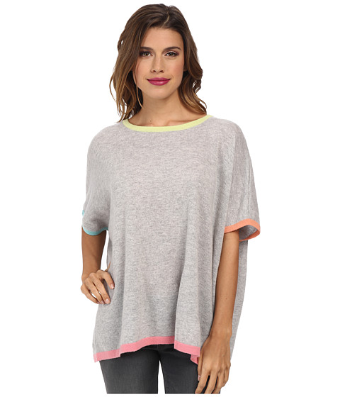 Autumn Cashmere - Multicolor Rectangle Sweater (Fog Multi) Women's Sweater