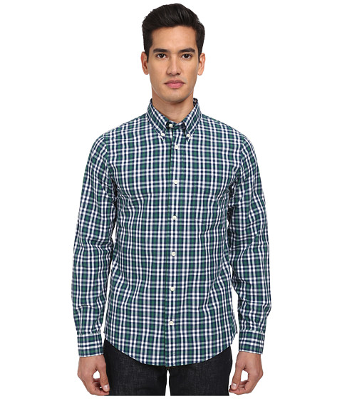 Jack Spade - Brennan Gingham Shirt (Green) Men
