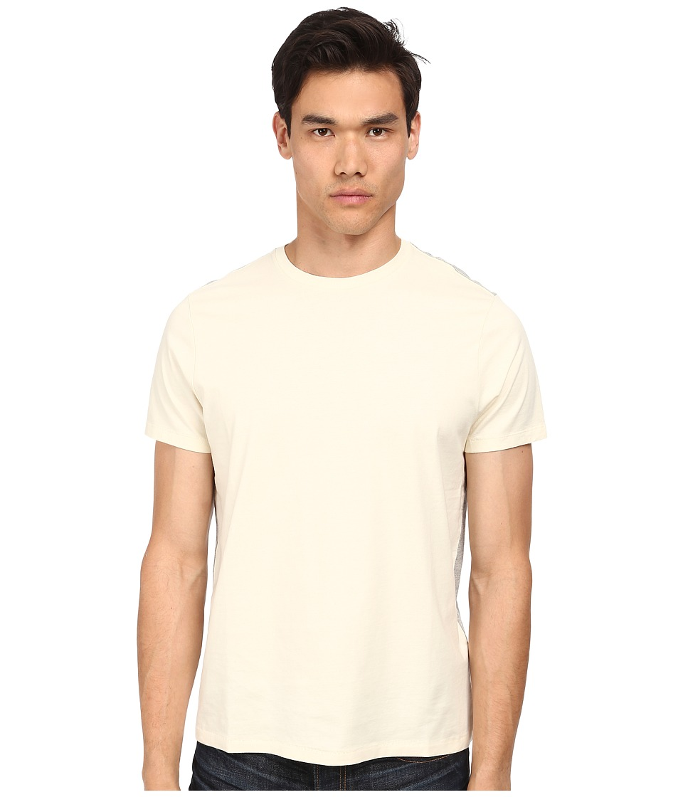 Jack Spade - Murray Color Block T-Shirt (Off White) Men's Short Sleeve Pullover