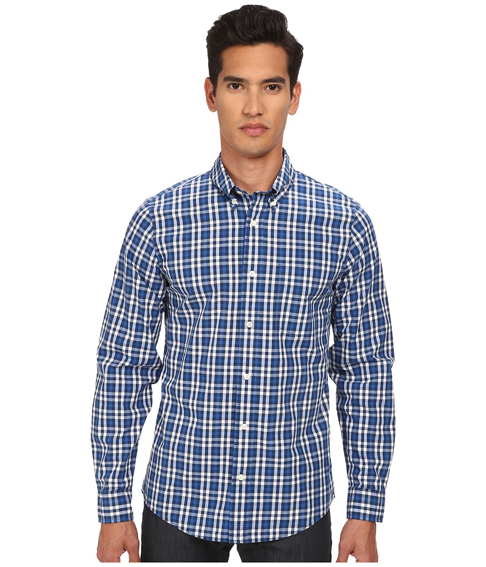 Jack Spade - Brennan Gingham Shirt (Blue) Men
