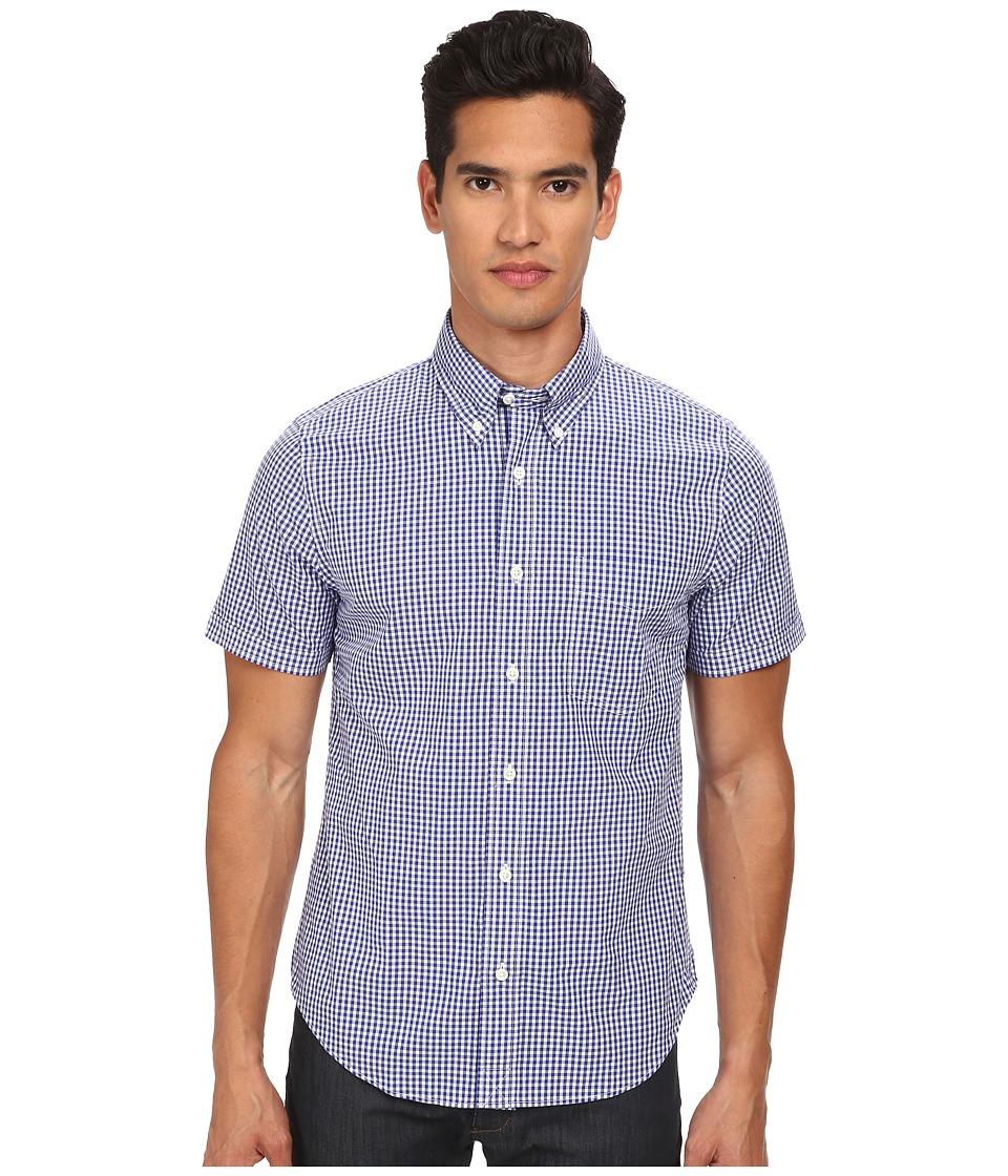 Jack Spade - Maddox Gingham Shirt (Navy) Men