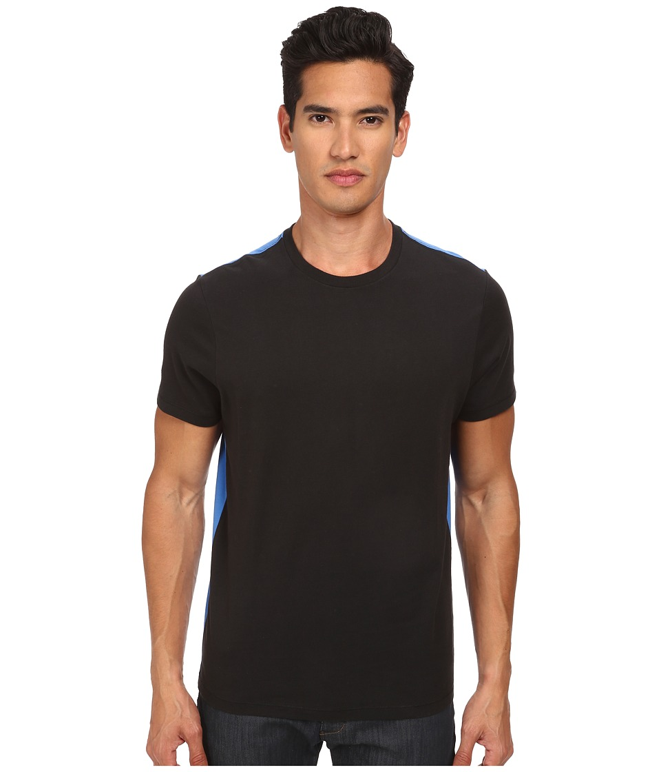 Jack Spade - Murray Color Block T-Shirt (Black) Men's Short Sleeve Pullover