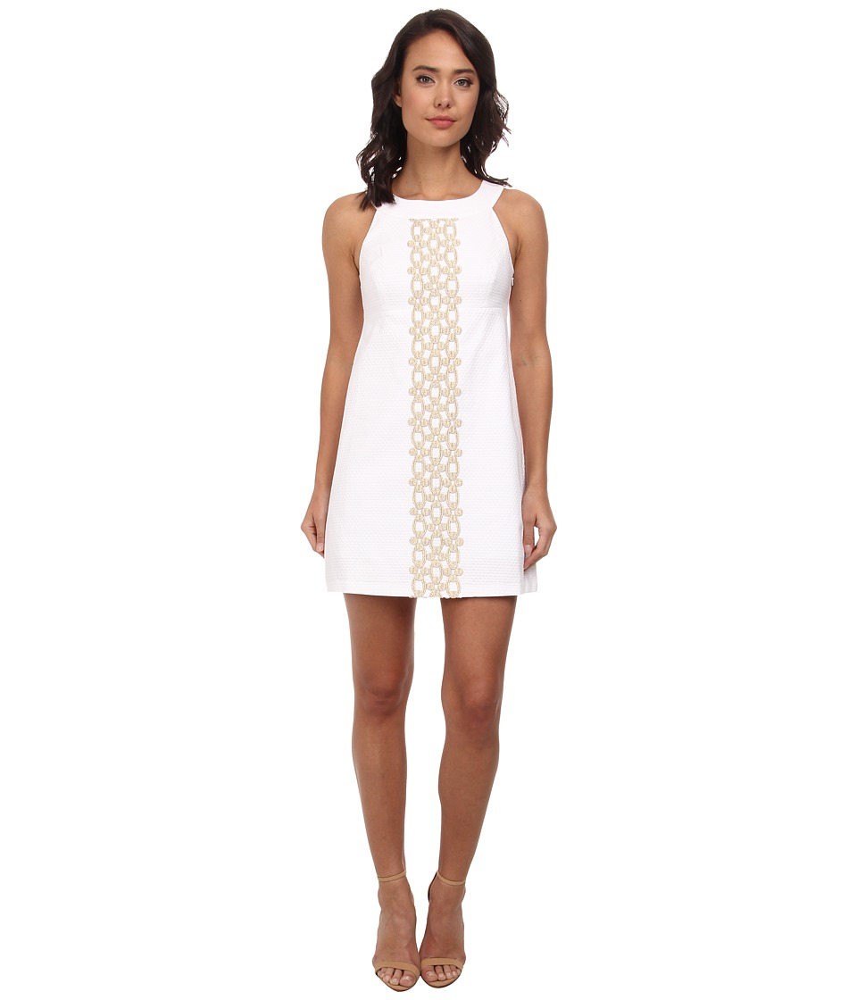 Lilly Pulitzer - Jacqueline Shift (Resort White) Women's Dress