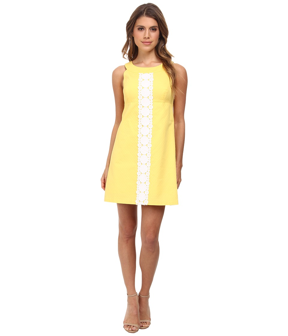 Lilly Pulitzer - Jacqueline Shift (Sunglow Yellow) Women's Dress