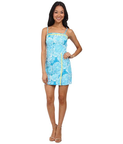 Lilly Pulitzer - Jesse Romper (Ariel Blue Lion in the Sun) Women's Jumpsuit & Rompers One Piece