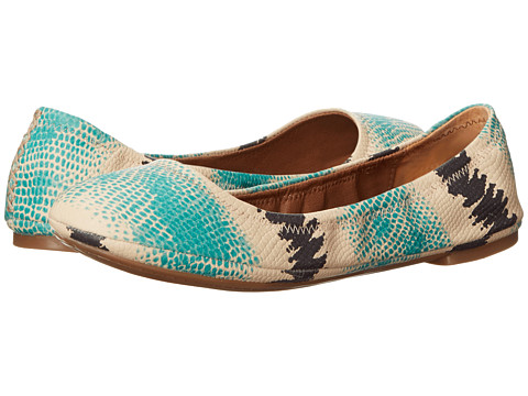 Lucky Brand - Emmie (Aqua) Women's Flat Shoes