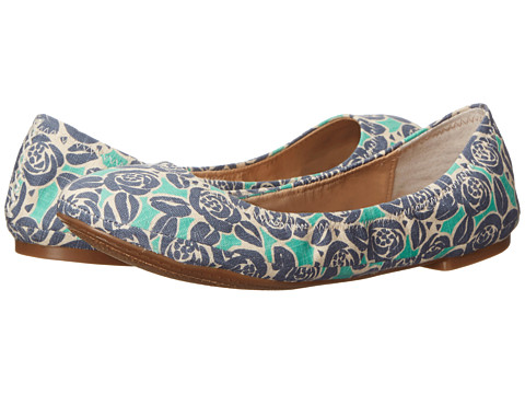 Lucky Brand - Emmie (River Rose Print Lnrrpt) Women's Flat Shoes