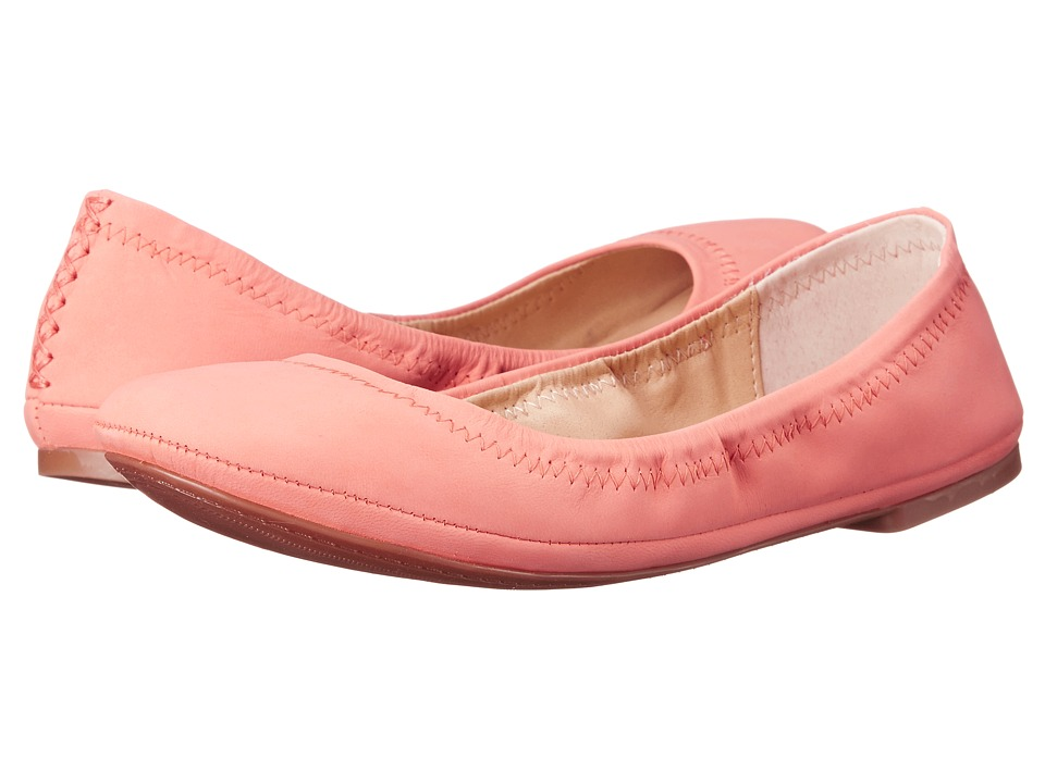 Lucky Brand - Emmie (Coral Elknub) Women's Flat Shoes