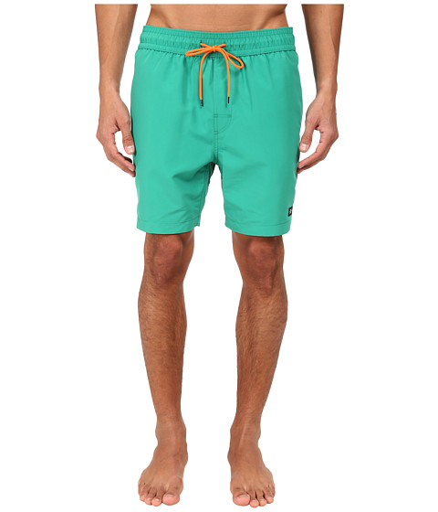 Jack Spade - Solid Grannis Swim Trunks (Blue/Green) Men's Swimwear