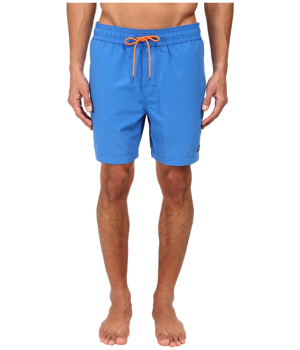 Jack Spade - Solid Grannis Swim Trunks (Strong Blue) Men's Swimwear