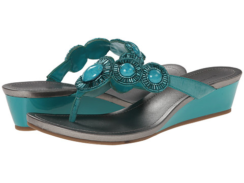 Bandolino - Briah (Medium Turquoise Synthetic) Women