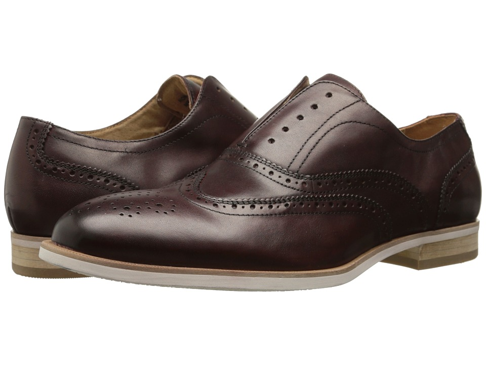 Steve Madden - Romah (Burgundy) Men's Lace Up Wing Tip Shoes