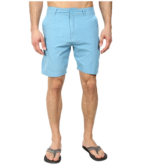 Body Glove - Amphibious Super Chunk Short (Cyan Heather) Men's Swimwear