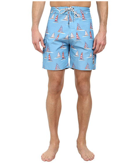Body Glove - Flying Hull Boardshort (Blue) Men's Swimwear