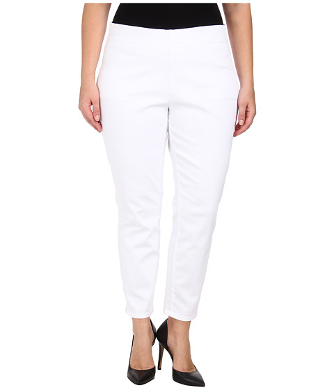 Jag Jeans Plus Size - Plus Size Peri Straight in White (White) Women