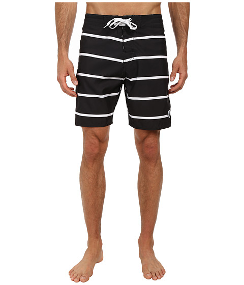 Body Glove - Linez Boardshort (Black) Men's Swimwear