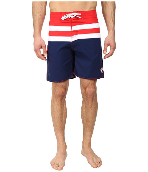 Body Glove - Piece O Pie Boardshort (Infrared) Men's Swimwear
