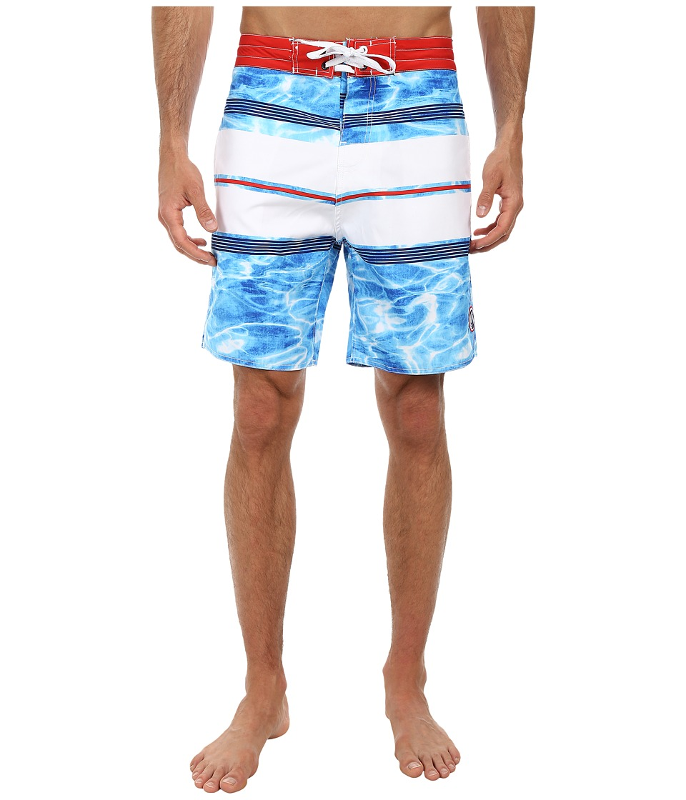 Body Glove - Skinny Dip Boardshort (Blue) Men's Swimwear