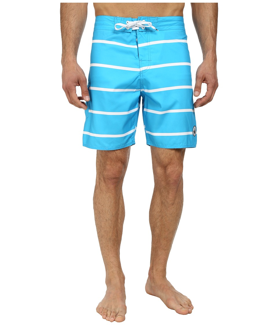 Body Glove - Linez Boardshort (Ocean) Men's Swimwear